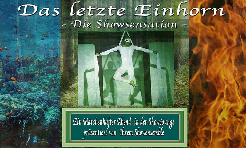 Das Letzte Einhorn Showlogo