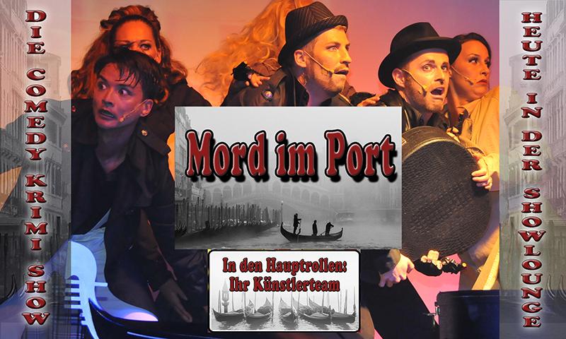 Mord Im Port Showlogo